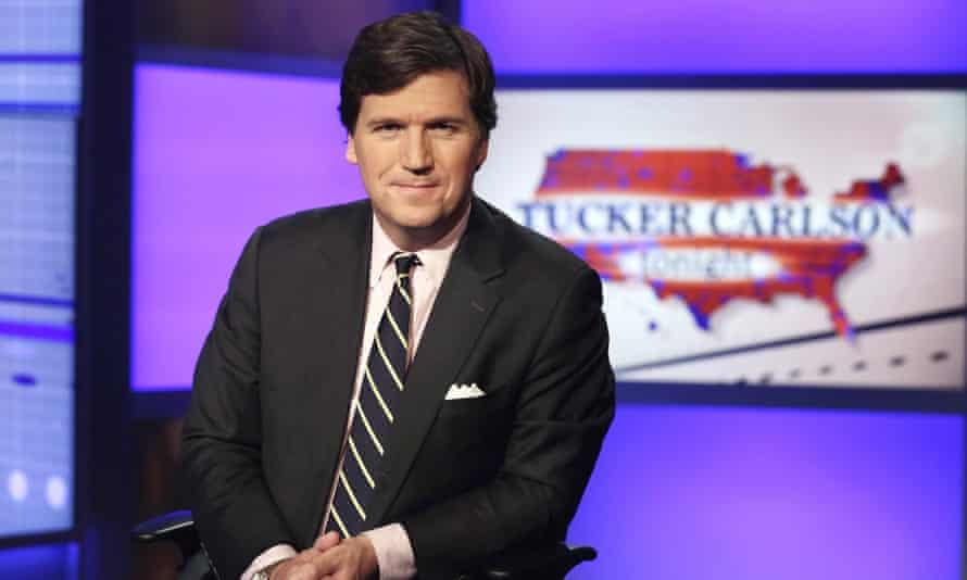 Tucker Carlson, host of Tucker Carlson Tonight on the Fox News channel.