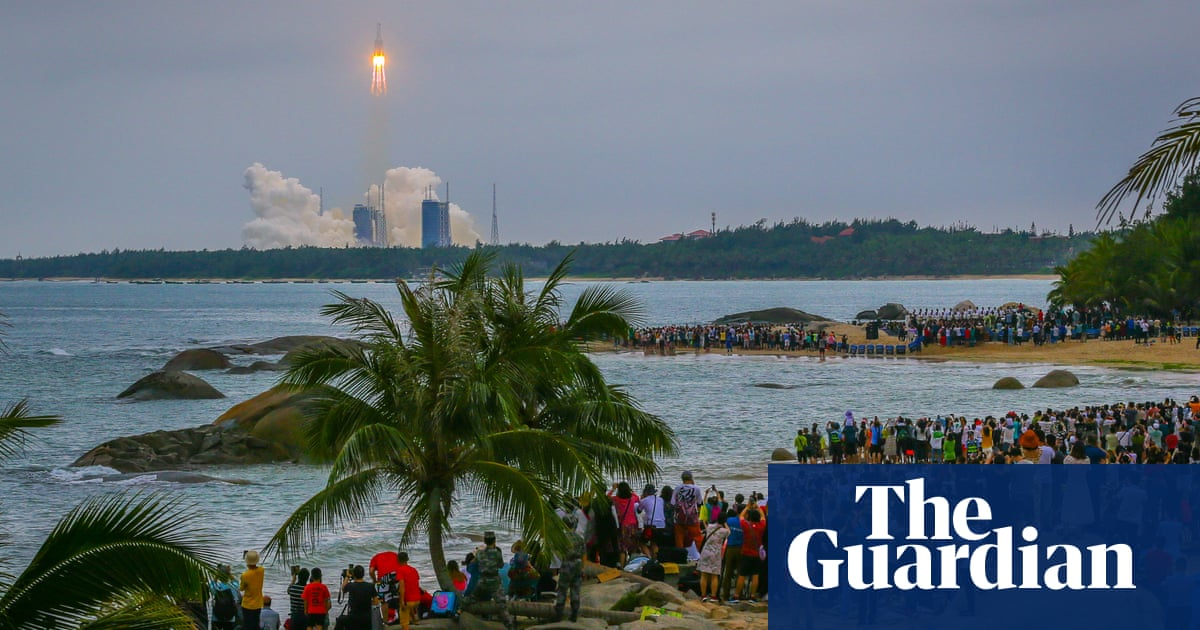 Chinese rocket's chaotic fall to Earth highlights problem of space junk