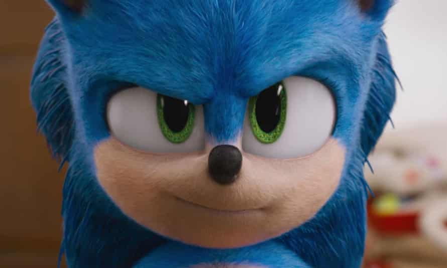 Japanese kawaii meets American attitude ... the redesigned Sonic the Hedgehog.