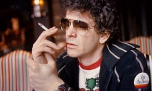 Lou Reed in Amsterdam, 1976.