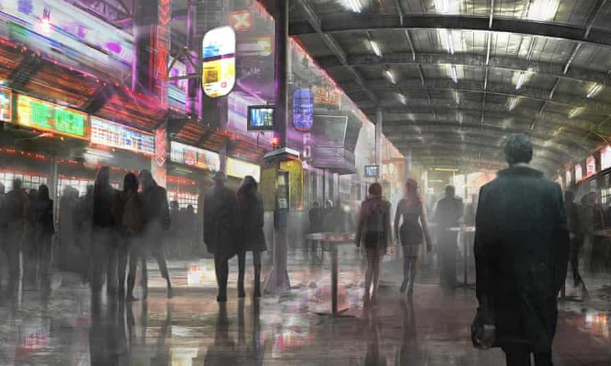 You know this city, you've seen it a million times before ... Blade Runner 2049.
