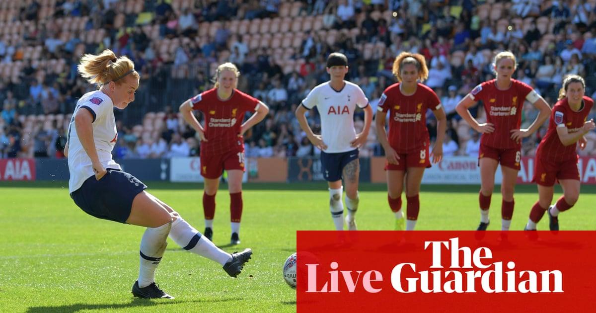 Tottenham 1-0 Liverpool: Womens Super League – as it happened