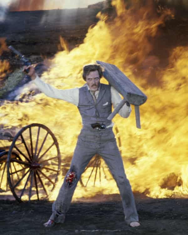 Christopher Walken in a scene from Heaven's Gate.