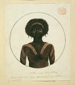 Portrait of an Aboriginal man, named BennelongDTGB78 Portrait of an Aboriginal man, named Bennelong