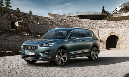 Centre stage: Seat's Tarraco is designed in Spain and built in Germany
