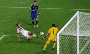 Mario Götze scores the winner