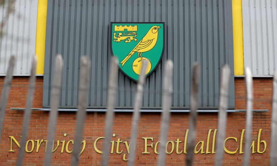 Norwich have furloughed staff but will top up that payment so they receive a full salary.
