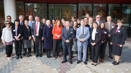 Representatives of 17 Victorian councils