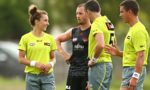 Eleni Glouftsis to make AFL history by becoming first female
