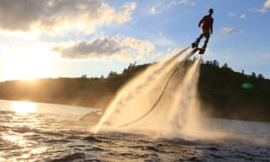 Powerboarding with HydroFly
