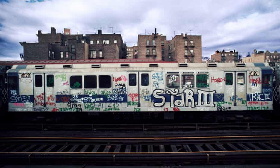 A train passes through the Bronx in 1973. Riders turned their backs on the city's run-down subway in the 1970s, but investment in the 1980s saved the system.