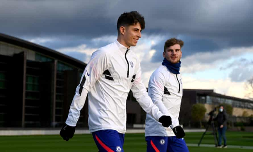 Chelsea spent almost £120m to sign German forwards Kai Havertz and Timo Werner last summer.
