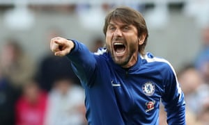 Antonio Conte watched in fury as his players blew any chance of a top-four place with a humiliating defeat.