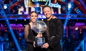 BBC Strictly Come Dancing 2018 winners Stacey Dooley and Kevin Clifton.
