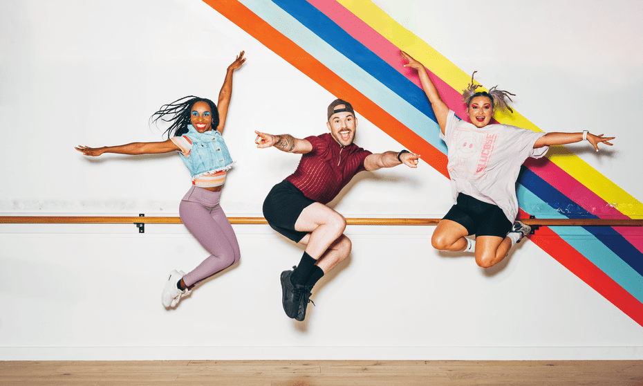 Dance teachers (from left) Pérola Congo, Isaac Houston and Scarlett Maguire