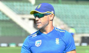 Faf du Plessis said of the third-Test defeat by England: 'I am not a robot. It's a tough time but there is no running away from it.'