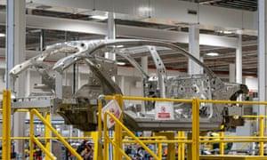 Aston Martin factory at St Athan.
