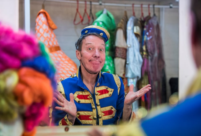 The fairytale of York: two panto champs on their Christmas