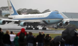 Stock image of Air Force One