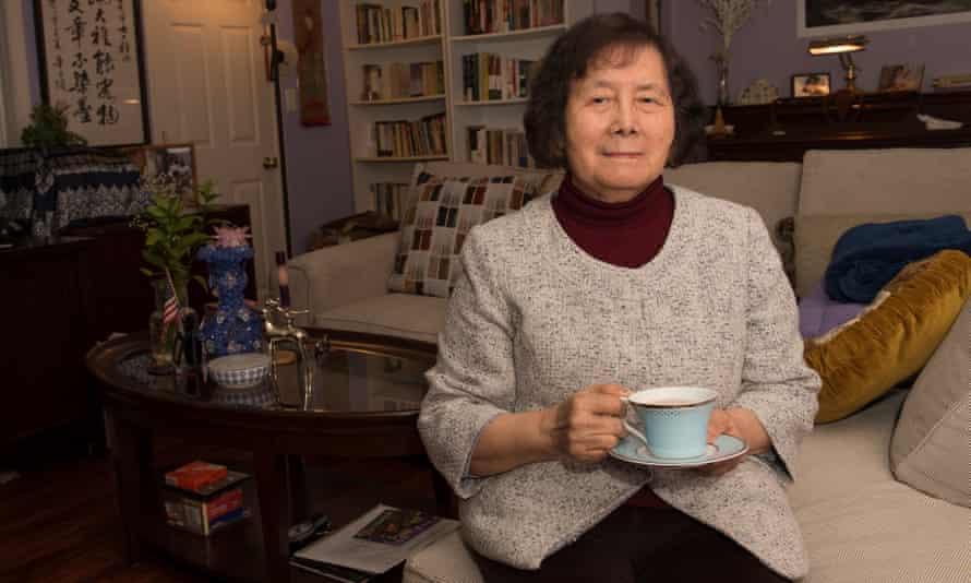 Yao Shuping at her home in Massachusetts.