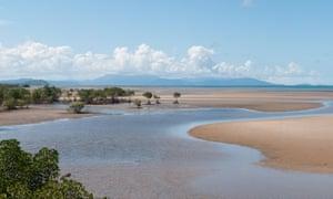 The Coral Sea coast near Port Douglas