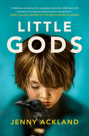 Book cover Little Gods by Jenny Ackland.