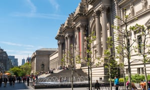 Het up at the Met … New York's Metropolitan Museum of Art is the largest in the US.