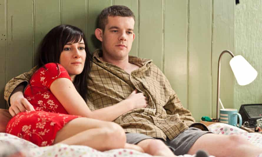 With Russell Tovey in Him and Her.