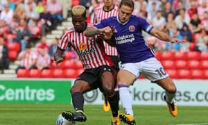 Didier Ndong, Sunderland's record signing, has not been seen at the club this season.
