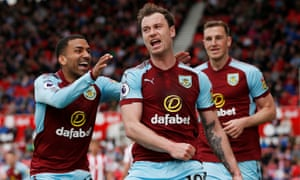 Ashley Barnes needs one more goal to reach double figures in the Premier League, having already done so in the second and third tiers with Brighton.