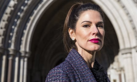 Christina Estrada can now fight for a share of her husband's £4bn fortune.