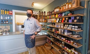 Sam Cowlan, of Fforc Welsh Deli