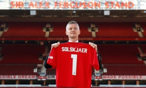 Ole Gunnar Solskjaer is unveiled as permanent Manchester United manager.