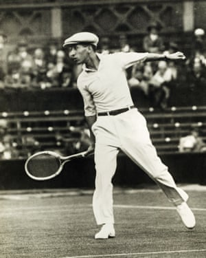 René Lacoste in action.