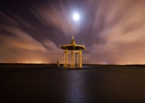 Flooded bandstandSouthsea bandstand was flooded in the storms of early 2014 Photograph: Jon Neil/GuardianWitness