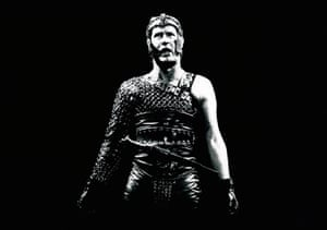 There have been several acclaimed portrayals of the hero in RSC productions including by Ian Richardson in 1967, Ian Hogg in 1972, Nicol Williamson in 1973 and, seen here, Alan Howard in a 1977 version directed by Terry Hands.