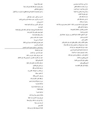 Tense Times, a poem by Ashraf Fayadh, Arabic version