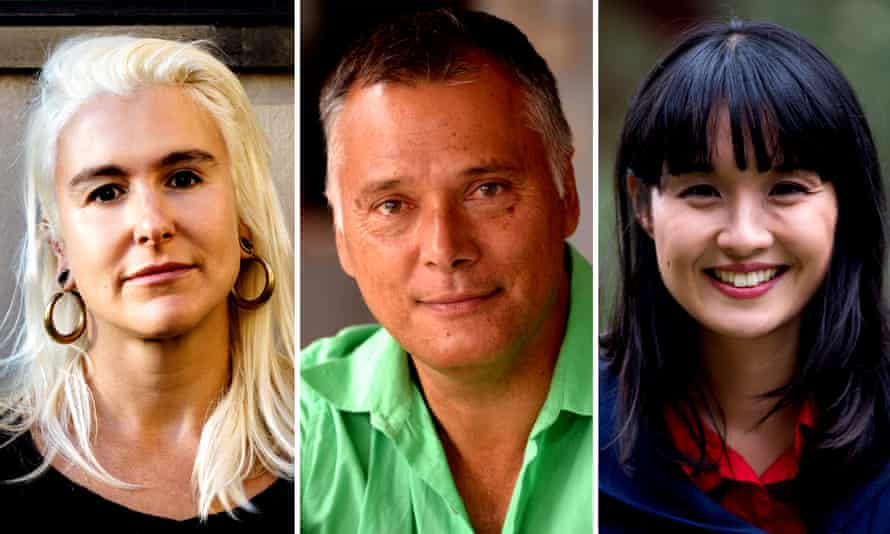 Authors Briohny Doyle, Stan Grant, and Alice Pung.