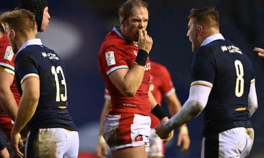 Alun Wyn Jones says Wales have 'massive improvements' to make.