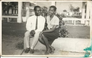 Nwaubani's parents as a young couple in Nigeria, circa 1970.