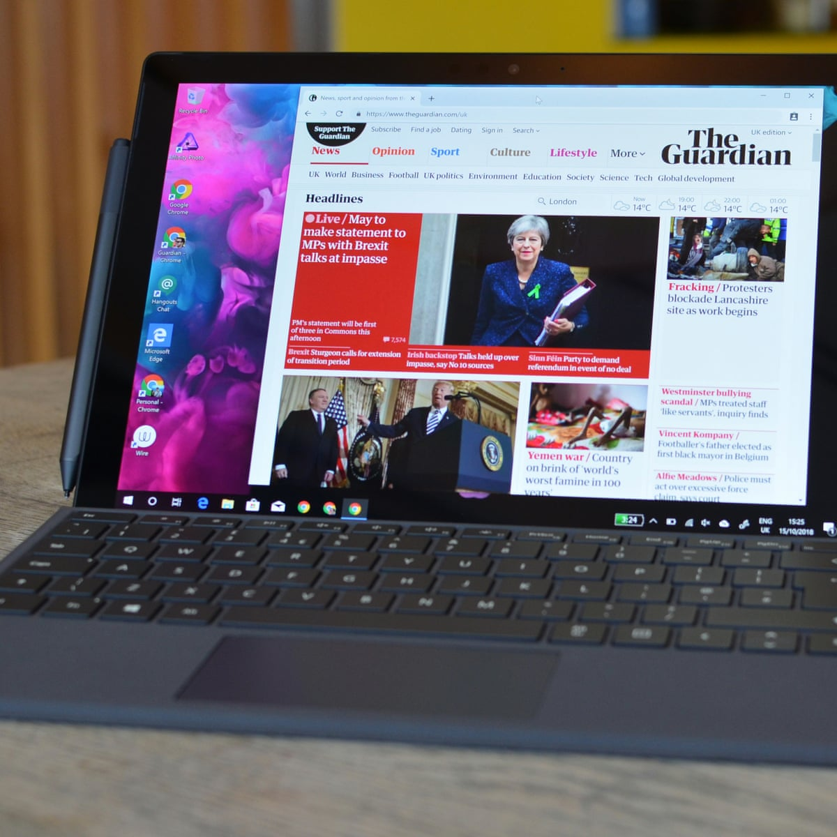 Microsoft Surface Pro 6 Review A Fantastic Tablet Pc You Shouldn T Buy Microsoft The Guardian