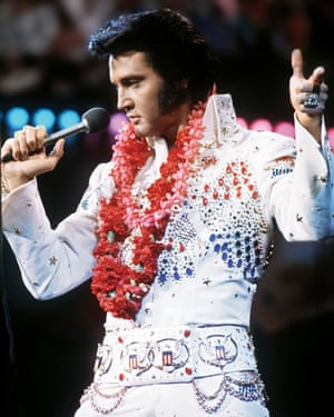 This picture was taken at Presley's 1973 show in Hawaii, just four years before his death at the age of 42. In his final years, the singer was dealing with illness and prescription-drug addiction. Although gaudy and maximalist in the 70s, his style remained influential, with his signature studded jumpsuits undoubtedly inspiring the likes of Michael Jackson, Elton John and David Bowie.