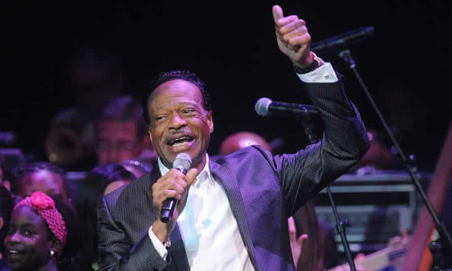 Edwin Hawkins performing in New York in 2014.