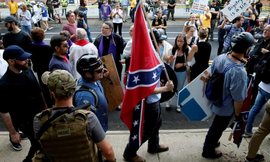 Spencer was one of the most prominent participants in the violent white supremacist rallies in Charlottesville, Virginia.