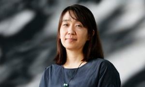 South Korean writer Han Kang.