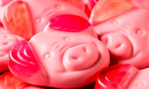 The new veggie Percy Pig sweets from M&S
