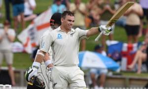 New Zealand's Tom Latham