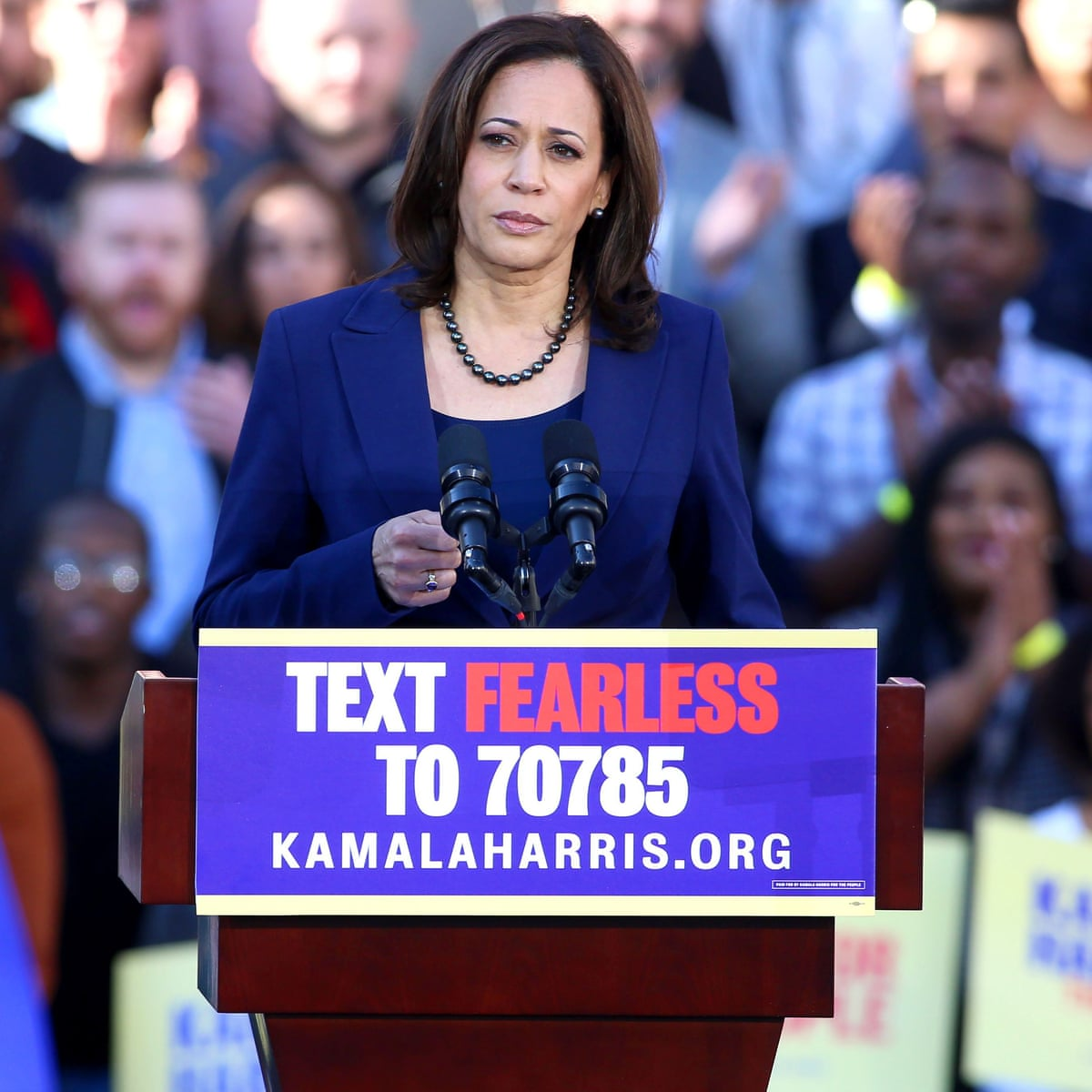 The Truths We Hold An American Journey By Kamala Harris Review Autobiography And Memoir The Guardian