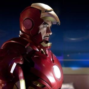 Robert Downey Jr in Iron Man