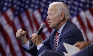 Former vice president and 2020 presidential candidate Joe Biden spoke at a gun safety forum in Last Vegas on Wednesday.